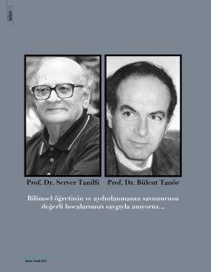 Portre: Prof. Dr. Server Tanilli ve Prof. Dr. Bülent Tanör Anısına